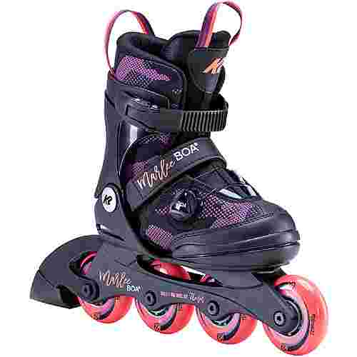 K2 Marlee BOA Inline-Skates Kinder black purple