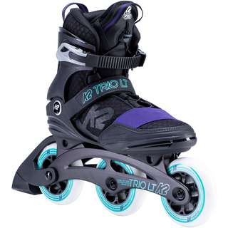 K2 Trio LT 100 Inline-Skates Damen black purple