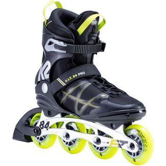 K2 F.I.T. 84 Pro Inline-Skates Herren black yellow