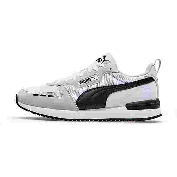 PUMA R78 Runner Sneaker Herren puma white-gray violet-puma black