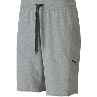 PUMA Gold´s Gym Shorts Herren medium gray heather