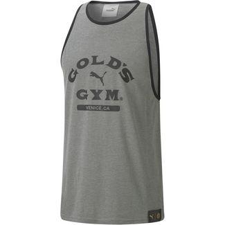 PUMA Gold´s Gym Funktionstank Herren medium grey