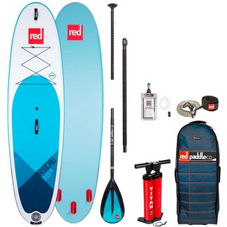 "Red Paddle RIDE 10'6"" x 32"" x 4,7"" MSL SUP Sets blau"