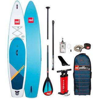 "Red Paddle SPORT 12'6"" x 30"" x 6"" MSL SUP Sets blau"
