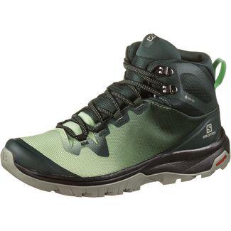 Salomon GTX® Vaya Mid Wanderschuhe Damen green gables-spruce stone-shadow