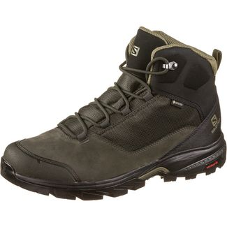 Salomon GTX® Outward Wanderschuhe Herren peat-black-burnt olive