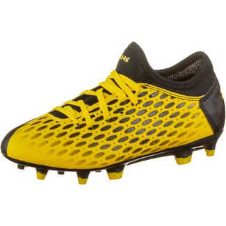 PUMA FUTURE 5.4 FG/AG Jr Fußballschuhe Kinder ultra yellow-puma black