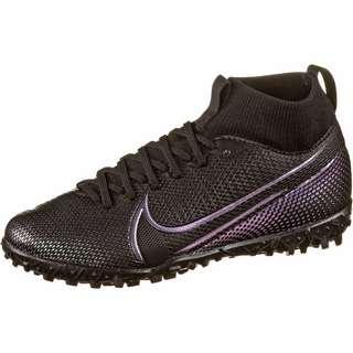 Nike JR MERCURIAL SUPERFLY 7 ACADEMY TF Fußballschuhe Kinder black-black