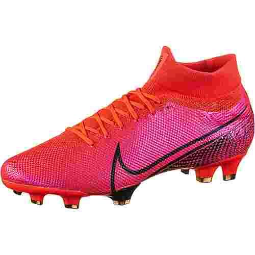 Nike MERCURIAL SUPERFLY 7 PRO FG Fußballschuhe Herren laser crimson-black-laser crimson