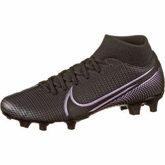 Nike MERCURIAL SUPERFLY 7 ACADEMY FG/MG Fußballschuhe black-black