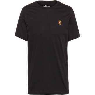 Nike M NKCT COURT EMB TEE T-Shirt Herren black