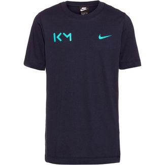 Nike Kylian Mbappe T-Shirt Kinder blue