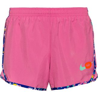 Nike Dry-Fit Laufshorts Kinder magic flamingo-emerald rise