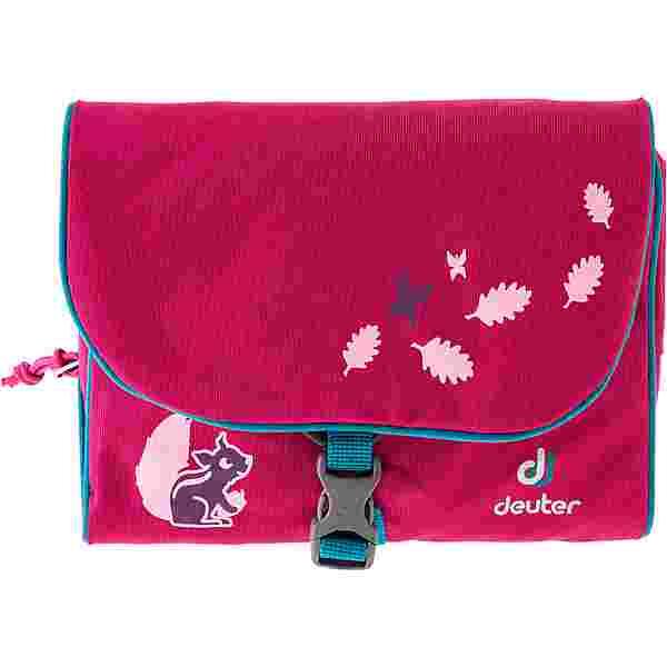 Deuter Wash Bag Kids Kulturbeutel Kinder magenta