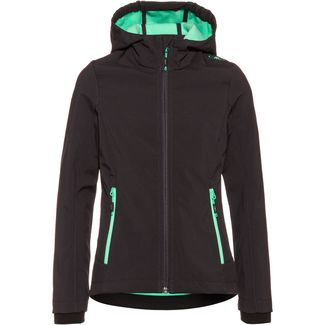CMP Softshelljacke Kinder antracite-aquamint