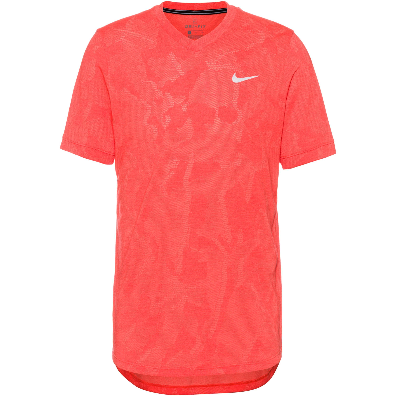 nike -  Court Dri-FIT Challenger Tennisshirt Herren