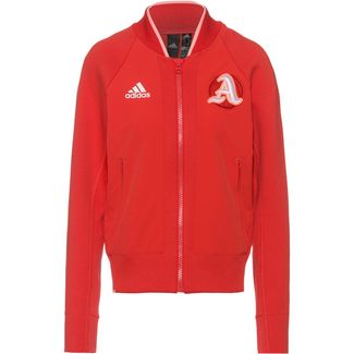 adidas VRCT Sweatjacke Damen glory red