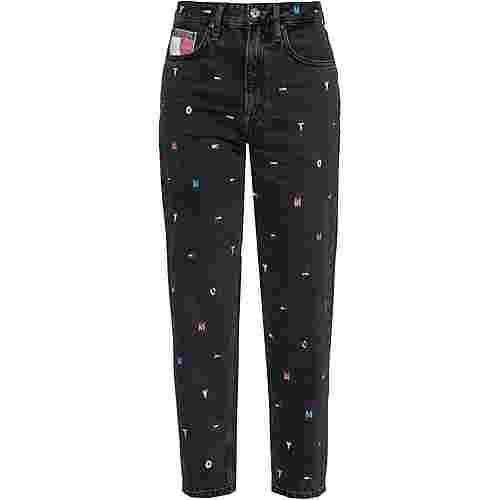 Tommy Hilfiger Straight Fit Jeans Damen save critter black rg