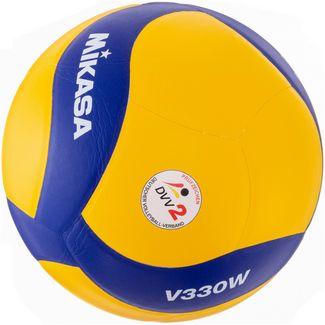 Mikasa V330W Volleyball gelb-blau