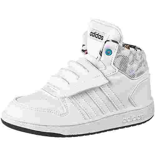 adidas Hoops Mid 2.0 I Basketballschuhe Kinder ftwr white