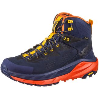 Hoka One One GTX® KAHA Wanderschuhe Herren patriot blue manderin red