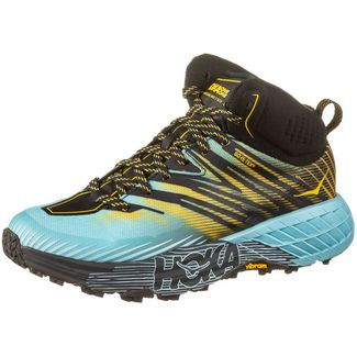 Hoka One One GTX® SPEEDGOAT MID 2 Trailrunning Schuhe Damen antigua sand gold rod