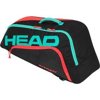 HEAD Junior Combi Gravity Tennistasche Kinder schwarz