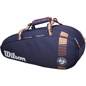 Wilson Roland Garros Team 6 Pack Tennistasche navy-clay