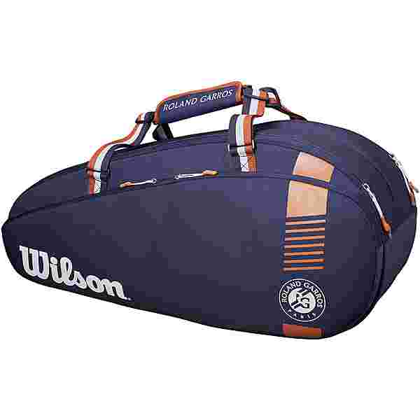 Wilson Roland Garros Team 6 Pack Tennistasche navy-clay