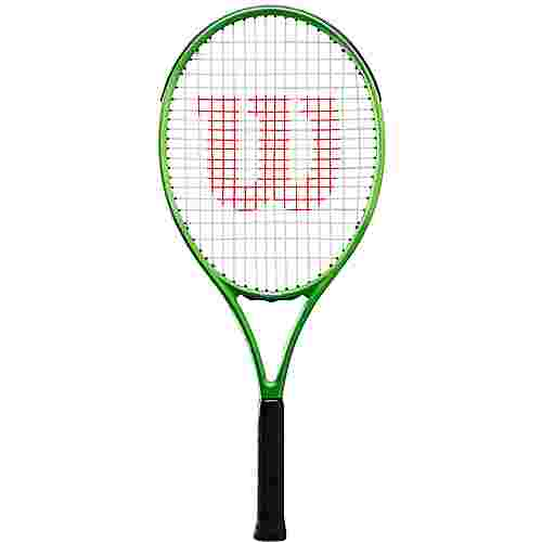 Wilson Blade Feel 25 Tennisschläger Kinder green