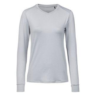 Endurance Langarmshirt Damen 1005 Light Grey Melange