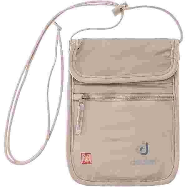 Deuter Security Wallet II RFID BLOCK Geldbeutel sand