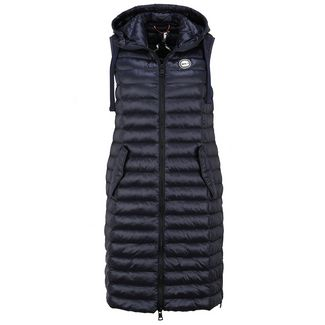 No.1 Como SILVA Outdoorweste Damen navy
