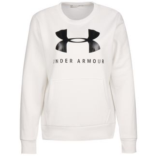 Under Armour Favorite Fleece Sportstyle Graphic Sweatshirt Damen weiß