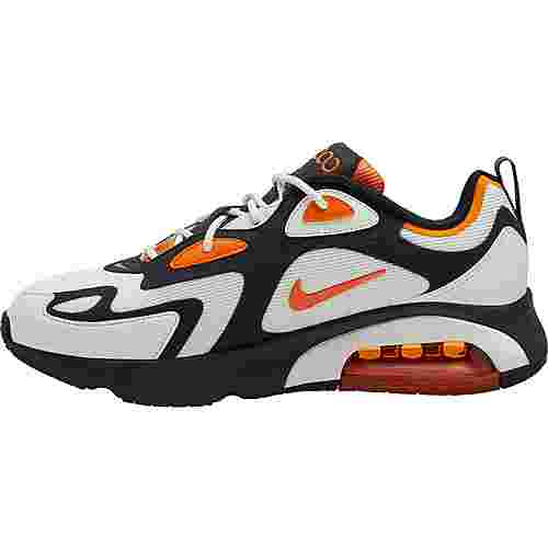 Nike Air Max 200 Sneaker Herren black-magma orange-sail