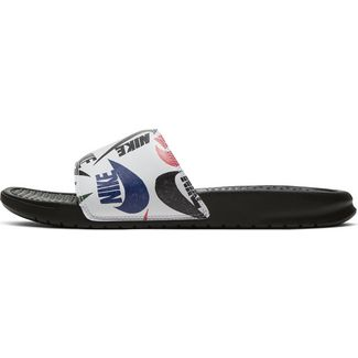 Nike Benassi JDI Badelatschen Herren black-black-white-multi-color