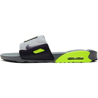 Nike Air Max 90 Badelatschen Herren smoke grey-smoke grey-volt-black