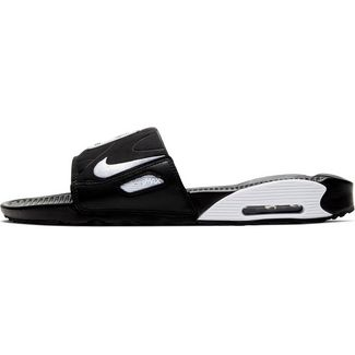 Nike Air Max 90 Badelatschen Herren black-white