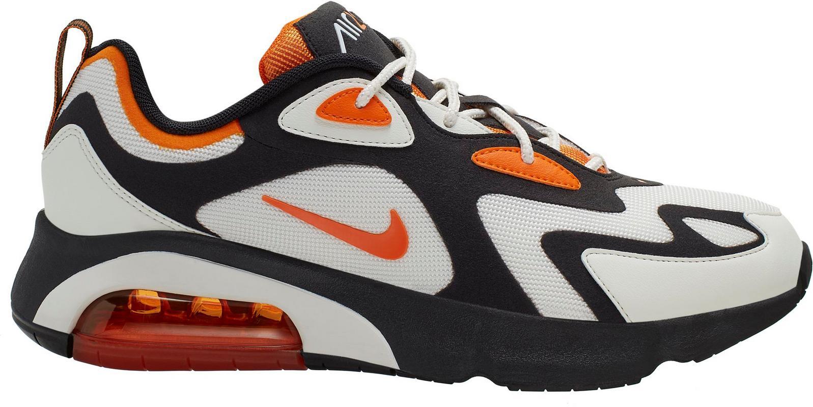 Artikel klicken und genauer betrachten! - Nike AIR MAX 200. Sneakers im modernen Look; atmungsaktives Mesh-Obermaterial mit Synthetik-Overlays; klassische Schnürung; Schaft mit Zuglasche; Textilfutter; Cushlon-Schaumstoff gewährleistet eine weiche Dämpfung; zusätzliche Dämpfung durch das seitlich sichtbare Max Air-Element; Fersen- und Zehenbereich verstärkt; Gummi-Außensohle mit Flexkerben; Swoosh-Logo.   im Online Shop kaufen