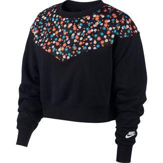 Nike Heritage Sweatshirt Damen black-white