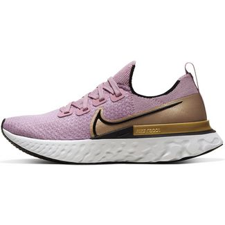 Nike React Infinity Run Sneaker Damen plum fog-black-metallic gold