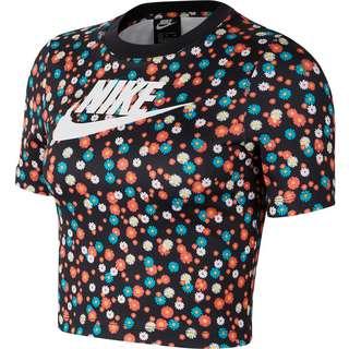 Nike Heritage T-Shirt Damen black-white