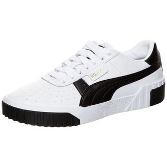 PUMA Cali Sneaker Damen weiß / schwarz
