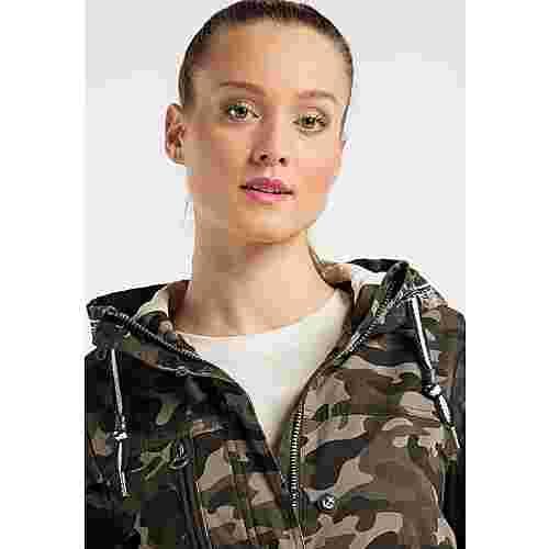 DreiMaster Parka Damen camouflage