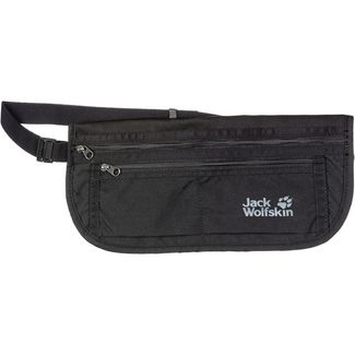 Jack Wolfskin DOCUMENT BELT DE LUXE Geldgürtel black