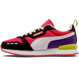 PUMA R78 Runner Sneaker Damen beetroot purple-puma black-puma white