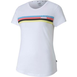 PUMA Celebration T-Shirt Damen puma white