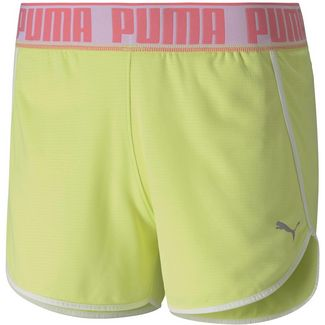 PUMA Funktionsshorts Damen sunny lime