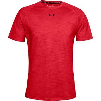 Under Armour Charged Trainingsshirt Herren versa red