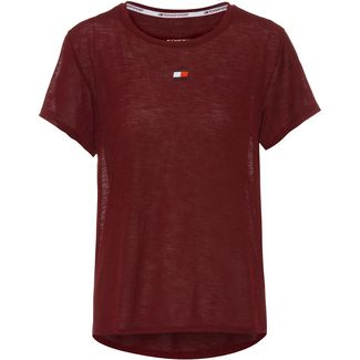 Tommy Hilfiger T-Shirt Damen deep rouge